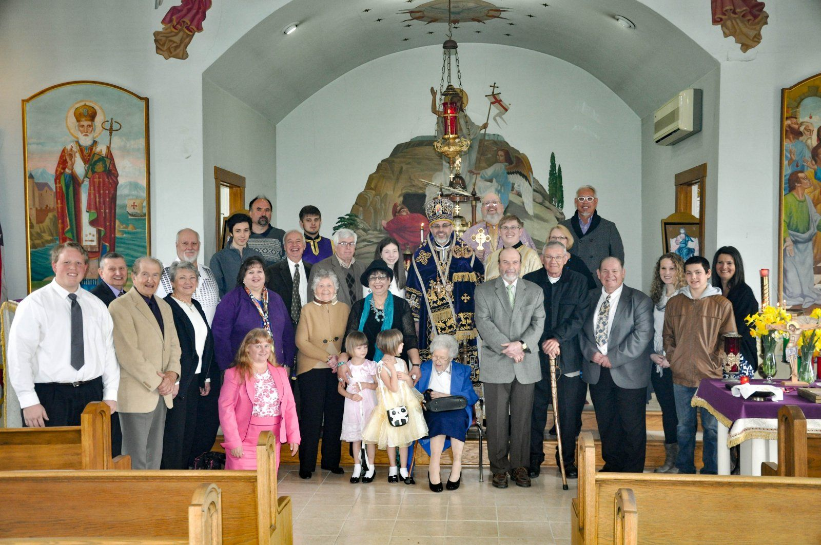 Holy Ghst Parish Family 2016