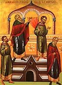 Publican and Pharisee Icon